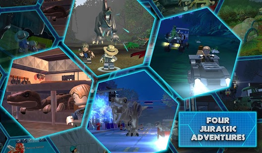 LEGO® Jurassic World v1.08.4 + data
