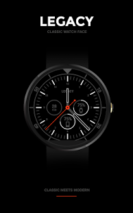 Legacy Watch Face v1.1.0