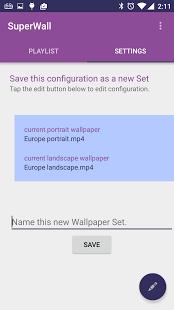 SuperWall Video Live Wallpaper v2.0.5