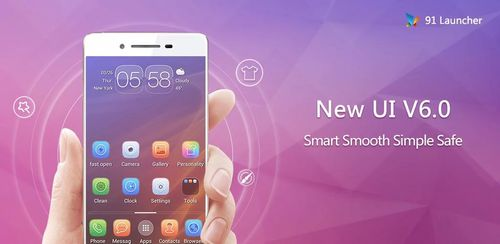 91 Launcher- Smooth, themes,UI v6.3.1.1