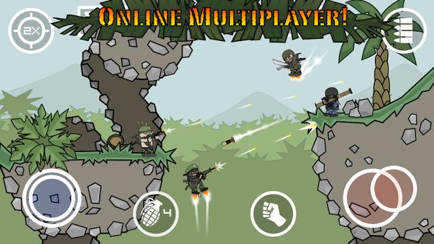 Doodle Army 2 : Mini Militia v3.0.27