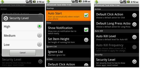 Advanced Task Killer Pro v2.1.0B211