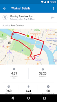 Run with Map My Run + v16.12.1