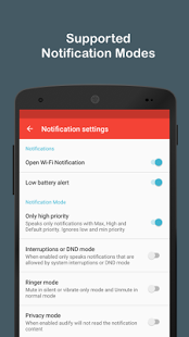 Audify Notification Reader Premium v2.8