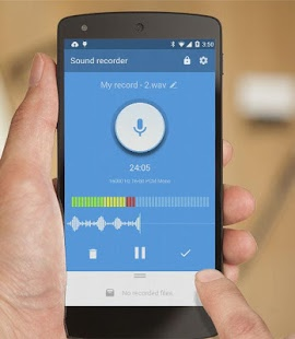 Recordr – Smart & Powerful Sound Recorder Pro v2.9