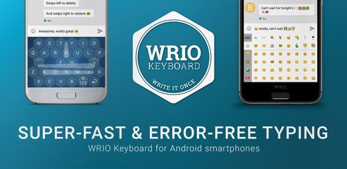 WRIO Keyboard (+Emoji) v1.2.1