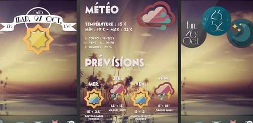 Retro Meteo Widgets by LP v3.4