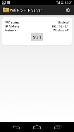 WiFi Pro FTP Server v1.5.5