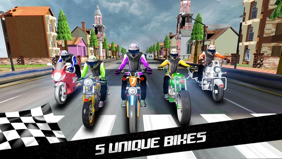 Turbo Racer – Bike Racing v1.3.1