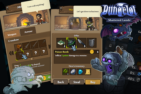 Dungelot Shattered Lands v1.373