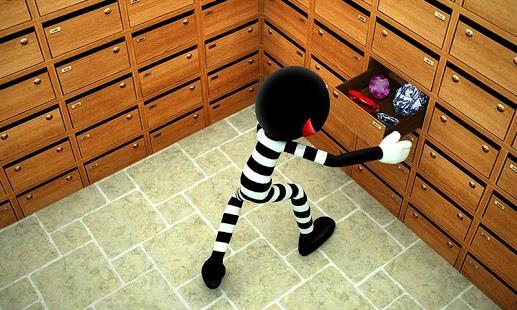 Stickman Bank Robbery Escape v1.1