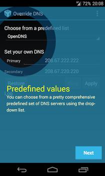 Override DNS (a DNS changer) v5.1.3-0-ga53c8db