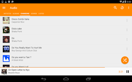 VLC for Android v2.1.0 build 20170129