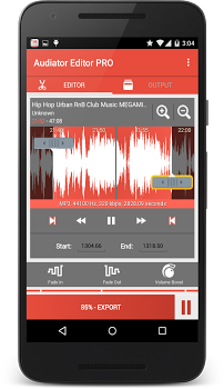 MP3 Cutter Ringtone Maker PRO v4.1