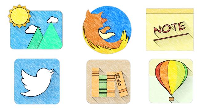 Sketchy – Icon Pack v1.46