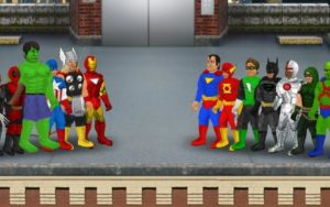 تصویر محیط Super City (Superhero Sim) v1.23