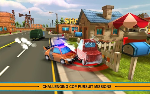 Blocky Cop Pursuit Terrorist v1.3