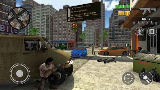Clash of Crime Mad City War v1.0