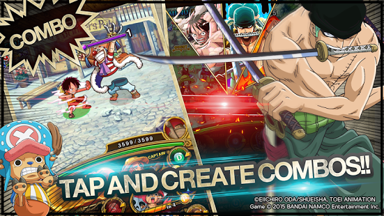 LINE: ONE PIECE TreasureCruise v4.0.0​