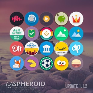 Spheroid Icon v1.4.8