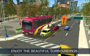 تصویر محیط Commercial Bus Simulator 16 v2.1