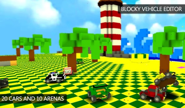 Blocky Demolition Derby v1.28