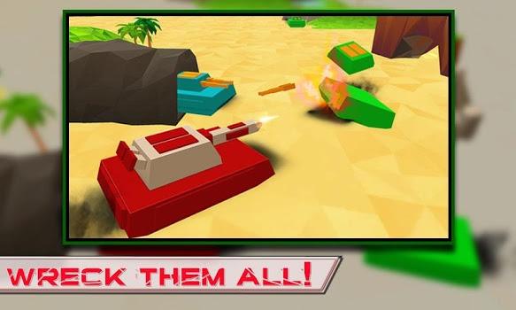 Blocky Tanks Force v1.3