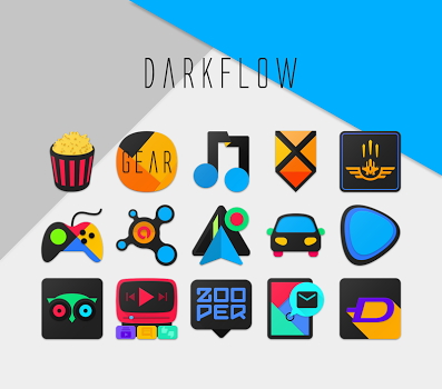 DarkFlow – Icon Pack v1.2