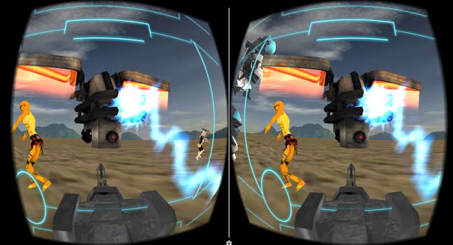 VR Alien Bots Shooter v1.3