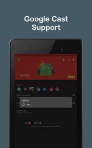 تصویر محیط Audify Notifications Reader v3.5.0