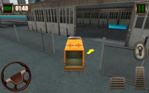 تصویر محیط Garbage Truck Simulator 2015 v2.4
