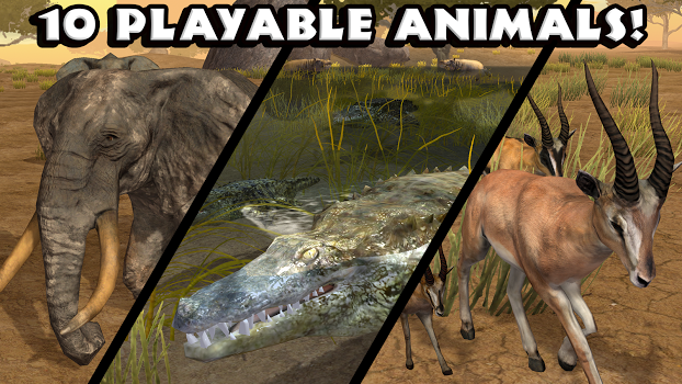 Ultimate Savanna Simulator v1