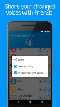 Voice changer for kids v3.2.8