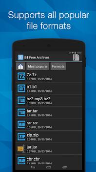 B1 Archiver zip rar unzip Pro v1.0.0125