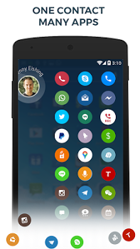 Contacts, Phone Dialer & Caller ID: drupe v3.033.0027X-Rel
