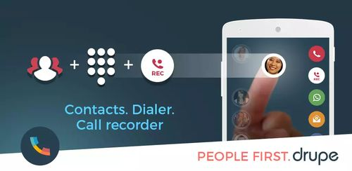 Contacts Phone Dialer: drupe v3.002.0043X-Rel