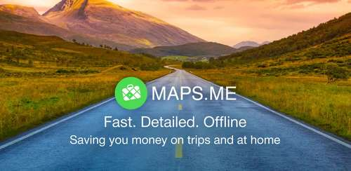 MAPS.ME – Map with Navigation and Directionsn v8.4.5 + Iran Map