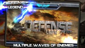 تصویر محیط Defense Legend v2.0.8