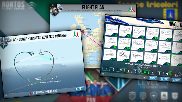 Frecce Tricolori Flight Sim v1.0 + data