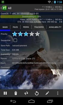 PTorrent Pro – Torrent Client v1.2.7