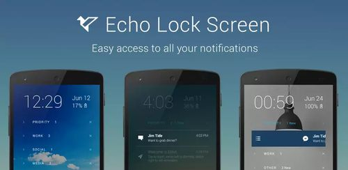 Echo Notification Lockscreen Premium v0.9.102