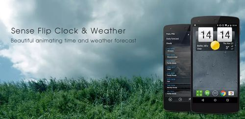 Sense Flip Clock & Weather v2.24.01
