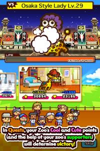 تصویر محیط Zookeeper Battle v4.9.4