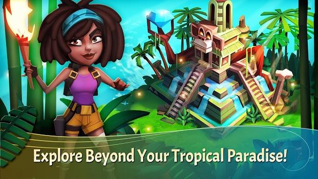 بازی شبیه ساز رستوران استوایی FarmVille: Tropic Escape v1.44.1664