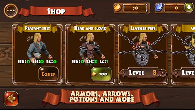 Robin Hood – Archery Games PVP v1.022