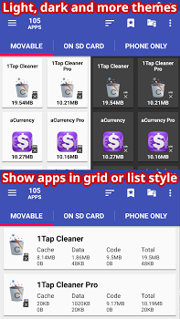 AppMgr Pro III (App 2 SD, Hide and Freeze apps) v4.26