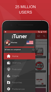 myTuner Radio App – Free FM Radio Station Tuner v6.0.2