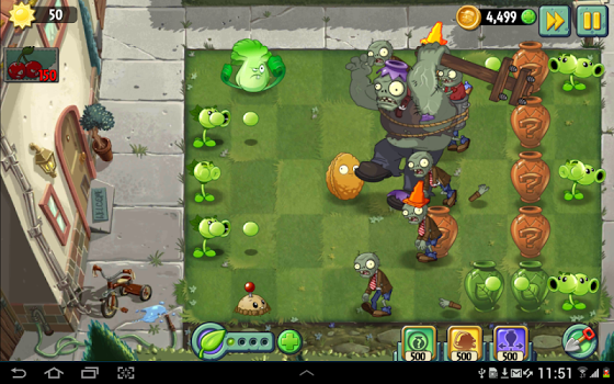 Plants vs. Zombies 2 v6.1.1 + data