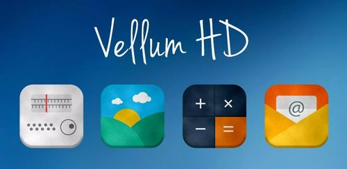 Vellum HD – Icon Pack v4.0.9