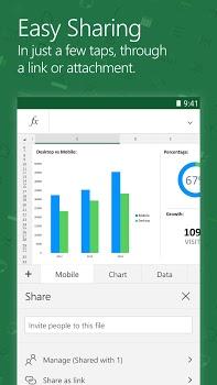 Microsoft Excel v16.0.8528.2074